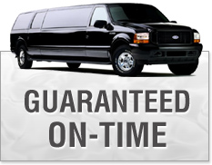 Trenton Limo, guaranteed on-time